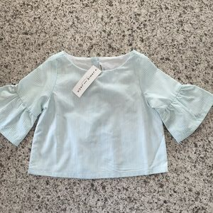 NWT Janie and Jack belle sleeve blouse size 4